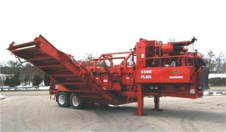 New Products - Morbark 5500 chain flail delimber/debarker